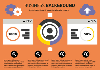 Free Business Background Vector - бесплатный vector #409063