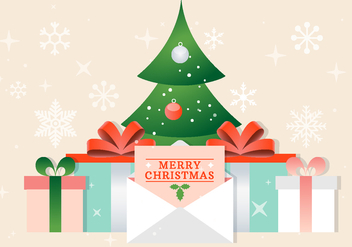 Free Vector Christmas Background - vector gratuit #409473