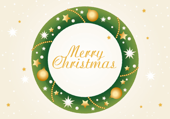 Free Christmas Vector Illustration - Kostenloses vector #409483