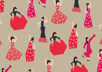 Flamencas Dancer Vector - Free vector #409903