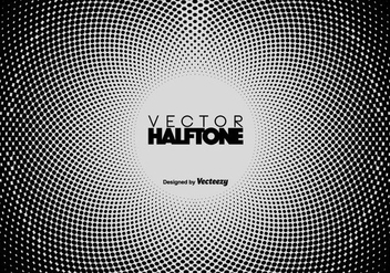 Vector Halftone Background - Kostenloses vector #410013