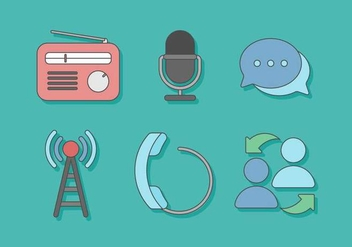 Free Communication Vector - vector #410353 gratis