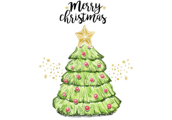 Free Christmas Tree - Free vector #410473