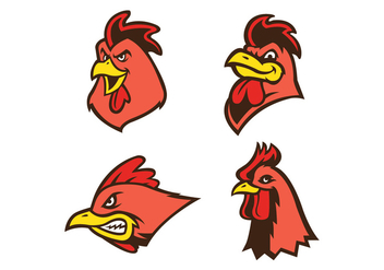 Free Rooster Vector - бесплатный vector #410493