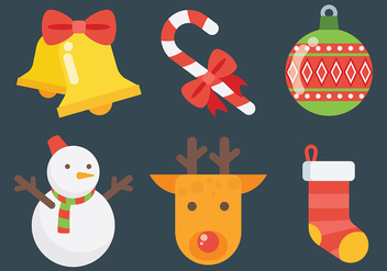 Free Christmas Icons Vector - Kostenloses vector #410773