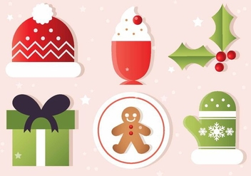 Free Christmas Vector Elements - Kostenloses vector #410833