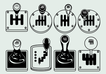 Gear Shift Free Vector - vector #411013 gratis