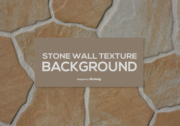 Stone Wall Texture - vector gratuit #411193