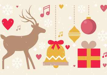Free Vector Christmas Design Elements - Free vector #411293