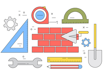 Free Construction Icons - vector #411433 gratis