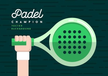 Padel Background - vector gratuit #411443