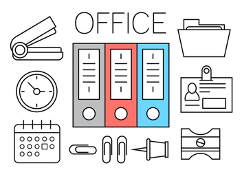 Free Office Icons - vector #411513 gratis