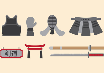 Set Of Kendo Icons - Kostenloses vector #411583