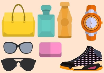 Free Fashion Essential Vector - vector gratuit #411623