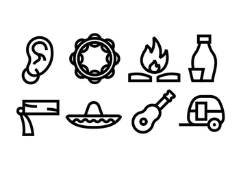 Gypsy Icons - vector gratuit #411693