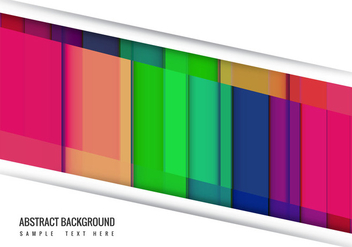Free Vector Colorful Abstract Background - бесплатный vector #411743