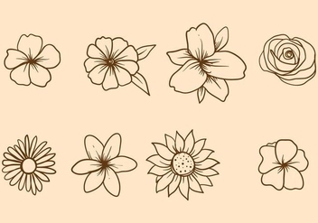 Free Easter Lily Vector - vector #412133 gratis