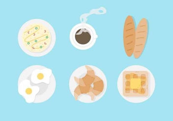 Free Breakfast Vector - бесплатный vector #412283