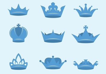 Free British Crown Vector - vector gratuit #412343