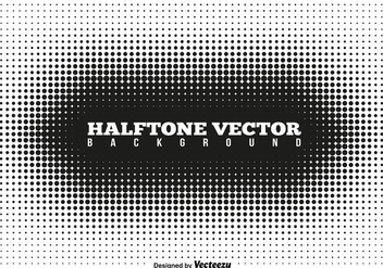 Vector Halftone Template - бесплатный vector #412733
