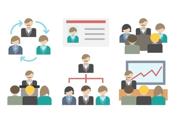 Free Business Meeting Vector - бесплатный vector #412913