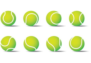 Tennis Ball - vector gratuit #413453