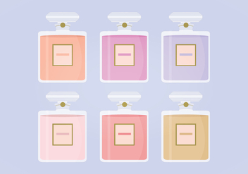 Vector Perfume Bottles Collection - Free vector #413613