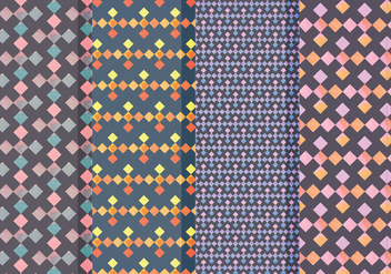 Vector Geometric Patterns - vector gratuit #413653