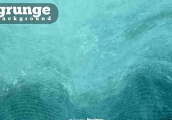 Turquoise Grunge Vector Background - vector #413673 gratis