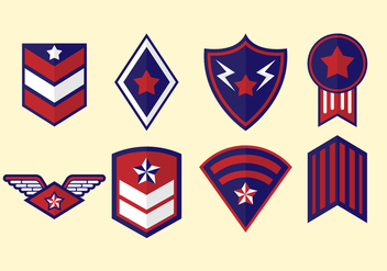 Free Military Badge Vector - vector gratuit #413683