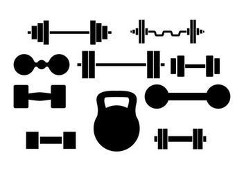 Free Dumbell Vector - Free vector #414213