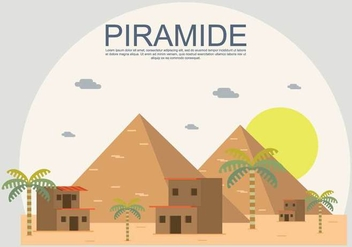 Free Piramide Illustration - Kostenloses vector #414283