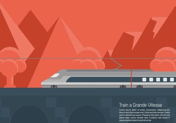 TGV Background - vector #414533 gratis