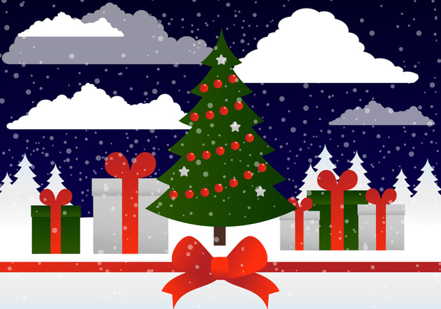 Free Vector Winter Holiday - Kostenloses vector #414583