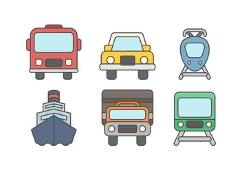 Free Vehicle Vector - vector #414693 gratis