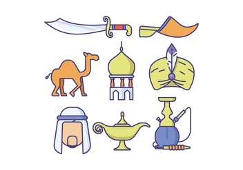 Free Middle East Vector - vector #414793 gratis