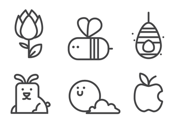 Spring Icon Set - Free vector #414843