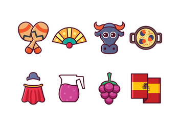 Free Spain Icon Set - Free vector #415183
