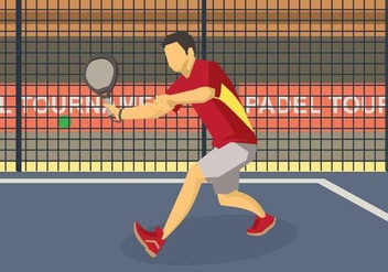 Free Padel Illustration - Free vector #415383