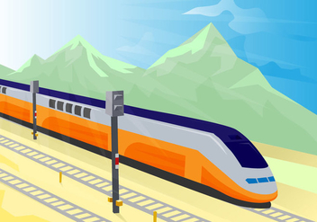 Free TGV Vector Illustration - vector gratuit #415553
