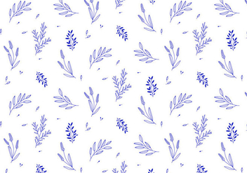 Vector Plant Pattern - Free vector #415613