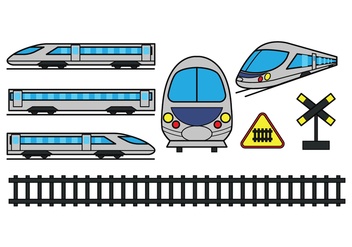 TGV Icons - Free vector #415703
