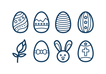 Free Easter Icons - Kostenloses vector #415803