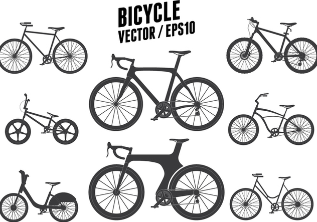Bicycle Vector - vector #415813 gratis