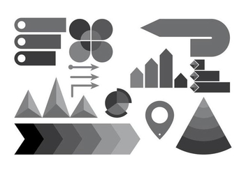 Free Infographic Elements Vector - vector #415823 gratis