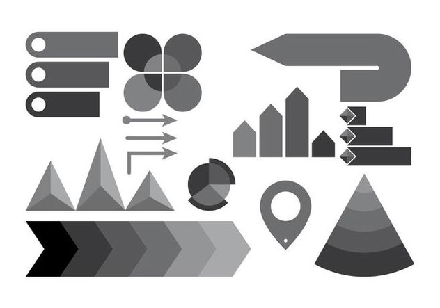 Free Infographic Elements Vector - Kostenloses vector #415823