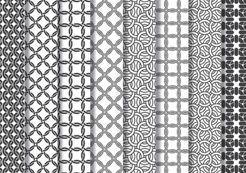 Chain Mail Pattern - Free vector #415833