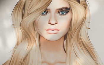 Bento Mesh Head Camille Vers. 2.0 (upated) by Akeruka - бесплатный image #415993