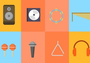 Free Music Vector Collection - vector #416033 gratis