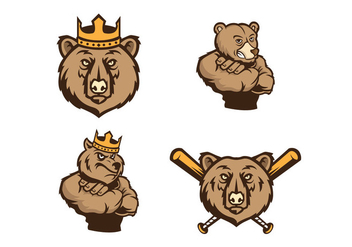 Free Grizzlie Vector - бесплатный vector #416143